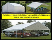 Weather – Shield and Shade Canopies! 30' to 50' long