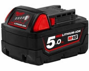 18V Milwaukee 48-11-1850 5.0AH Battery M18B5 XC 5.0 Red Lithium
