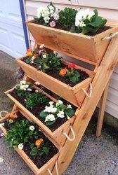 large gardening planters raised bed gardening system