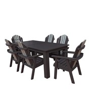 All Weather Patio 7 Piece Dining Set