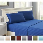 Wrinkle,  Fade,  Stain Resistant Stylish Lux Decor Bed Set For Sale