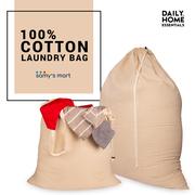 Shop Hanging cotton canvas laundry bag Online USA   Samy's Mart Amazon