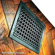 Buy online wood return air grille at patterncut.com