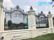 Custom Wrought Iron Fence With Classic Style