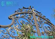 Custom Luxury Wrought Iron Gate For Your Residence