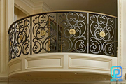Hot-selling Custom Wrought Iron Balcony Railings