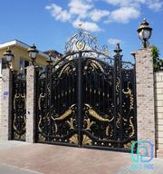High-quality Custom Wrought Iron Gate,  Driveway Gate